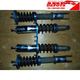 2004-2005-2006-2007-2008-2009-2010-2011 MAZDA RX-8 RX8 SE3S GENUINE KTS FULL ADJUSTABLE COILOVERS SUSPENSION SHOCKS SPRING JDM MAZDA SE3P RX-8 ADJUSTABLE COILOVER SPRINGS