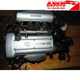1991-1995 TOYOTA COROLLA LEVIN 1.6L 4AGE AE101 SILVER TOP ENGINE 5SPEED MANUAL TRANSMISSION JDM TOYOTA COROLLA LEVIN 1.6L MOTOR 5SPEED TRANSMISSION + WIRING + ECU