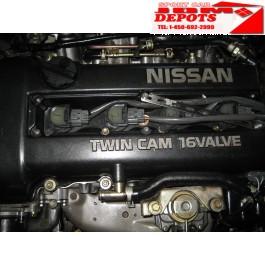 1991 1992 1993 JDM NISSAN SILIVA 240SX 180SX SR20DET S13 BLACK TOP MOTOR JDM SR20DET ENGINE 5SPEED TRANSMISSION