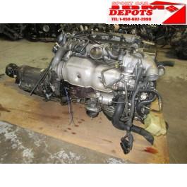 91-97 JDM TOYOTA ARISTO / LEXUS GS300 2JZ-GTE ENGINE + AUTOMATIC TRANSMISSION + WIRING + ECU JDM 2JZ-GTE 2JZGTE 2JZGTTE 2JZ JZS147 FRONT SUMP MOTOR