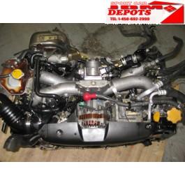 04 07 SUBARU FORESTER SG5 ENGINE JDM EJ205 TURBO DOHC 2.0L AVCS IMPREZA WRX