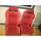 1994 1995 1996 1997 1998 1999 2000 2001 ACURA INTEGRA DC2 B18C TYPE R SPEC R FRONT RED RECARO SEATS JDM