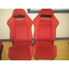2002 2003 2004 2005 ACURA RSX DC5 K20A TYPE R SPEC R FRONT RED RECARO SEATS JDM