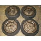 185-60-15 RACING WHEELS (5 IN DOUBLE SPOKES) MAG WHEELS/ RIMS BOLT PATTERN 5X114.3 OFFSET +50 SIZE 15X6.00JJ JDM MONTREAL, JDM DEPOTS, JDM QUEBEC, JDM CANADA, JDM RIVESUD, MAG WHEELS, RIMS, JANTES