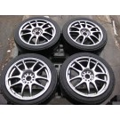 215-45-17 GENUINE WORK EMOTION CR Kai (5 DOUBLE SPOKES) MAG WHEELS/ RIMS BOLT PATTERN 5X100 OFFSET +47 SIZE 17X7JJ MAG WHEELS, JANTES, RIMS, JDM-MAG-WHEELS, JDM-RIMS, JDM-DEPOTS, JDM-ENGINE, JDM-MONTREAL, JDM-RIVESUD