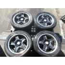 225-50-16  TIRES RS-5 WEDS SPORT MAG WHEEL BOLT PATTERN 5X114.3  OFFSET 48 16X8JJ JDM RS-5 WEDS SPORT 16X8JJ 5X114.3 48 OFFSET, HONDA ENGINE, NISSAN ENGINE, TOYOTA ENGINE, SUBARU ENGINE ACURA ENGINE JDM BEST PLACE IN MONTREAL